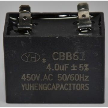 Конденсатор 4 мкф 450v СВВ61 клеммы (9309)