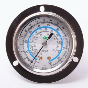 Манометр 63 мм R410 низкого давления с глицерином (10881)