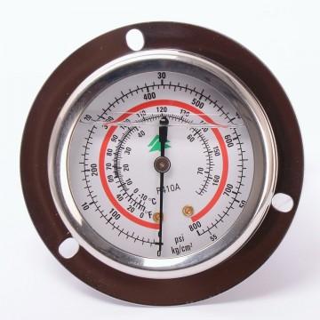 Манометр 63 мм R410  высокого давления с глицерином (10882)