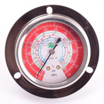 Манометр 63 мм R404a, R22, R134a, R407c  высокого давления с глицерином (10883)