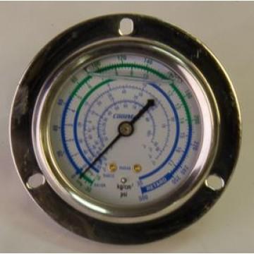 Манометр 63 мм R410a,R407C  низкого давления с глицерином (10885)