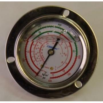 Манометр 63 мм R410a,R407C  высокого давления с глицерином (10886)
