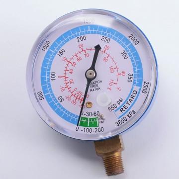 Манометр низкого давления  DSBL 68 мм (R410) (010940)