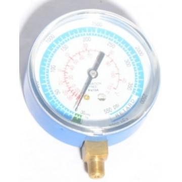 Манометр низкого давления DSEL 80мм (R410) (254)
