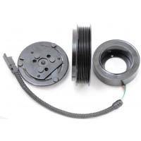 Муфта компрессора автокондиционера 6PK d123/118 (2705)