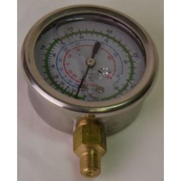 Манометр высокого давления с глицерином KTMH-01 R410a, R22, R134a (10894)