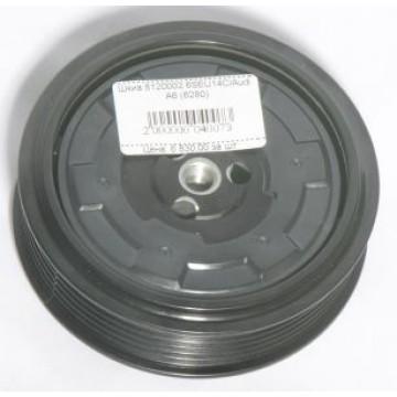 Муфта компрессора автокондиционера Audi A4, A5 (6280)