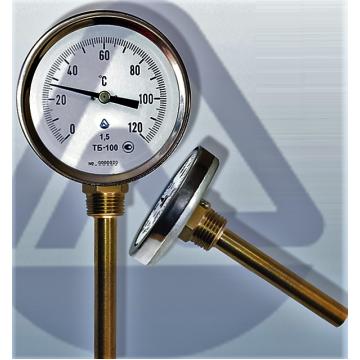 Термометр ТБ- 63- 50 0+120-2,5-О ТУ У 33.2-14307481-033:2005 (9473)