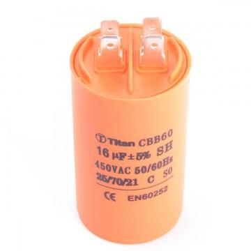 Конденсатор 16 мкф 450v CBB60A (010789)