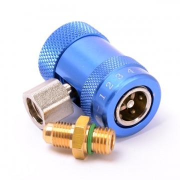 Быстросъемная муфта НД с вентилем R-1234yf HS-ML-1234 (017457)