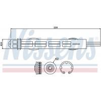 Фильтр-осушитель Renault Laguna III 95488