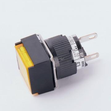 Световой индикатор FUJI ELECTRIC AH164-ZS 24V желтый (9941)