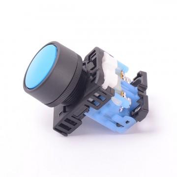 Кнопка без фиксации AR22FOR синий (9946)