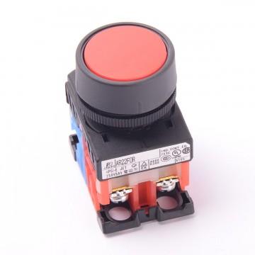 Кнопка без фиксации AR22FOR красный (9947)