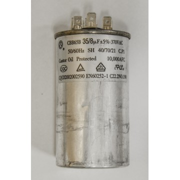 Конденсатор 35+8 мкф 370v CBB65B (9646)
