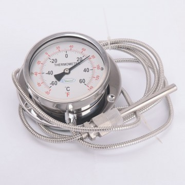 Термометр манометрический BC-T100 (-60/+60 С) (2037)